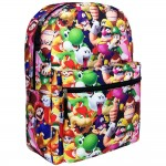 Super Mario Bros 3D All-Over Print Large Backpack #NN43719