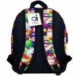 Super Mario Bros 3D All-Over Print Medium Backpack #NN43899