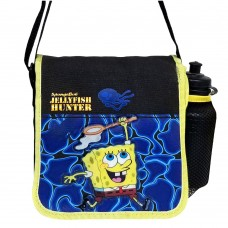 Sponge Bob Jelly Hunter DJ Lunch with Water Bottle #28077