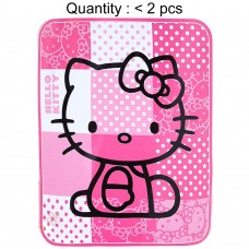 Hello Kitty Patch Raschel (Micro-Fiber) Blanket #60278