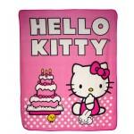 Hello Kitty Cake Fleece Blanket #66835