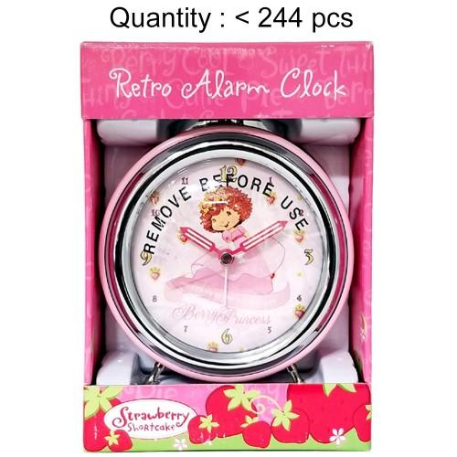 Strawberry Shortcake Dazzle Retro Clock #72STA323