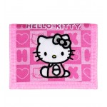 Hello Kitty Dice Pink Trifold Wallet #82345