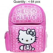Hello Kitty Dice Pink Large Backpack #82348