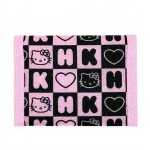 Hello Kitty Dice Black Trifold Wallet #82354