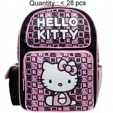 Hello Kitty Dice Black Large Backpack #82358