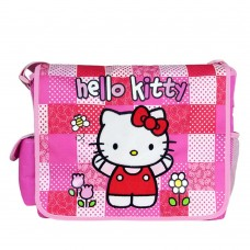 702de5010453 Hello Kitty Patch Pink Large Messenger Bag  82422