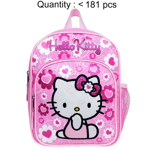 Hello Kitty Floral Heart Pink Mini Backpack #84022