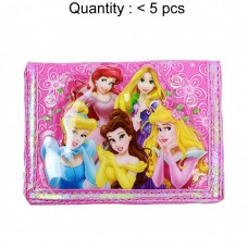 Princess Rose Basket Trifold Wallet #A00165