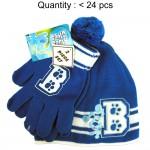 Blue's Clues Beanie and Glove Set #CBKS2548-B