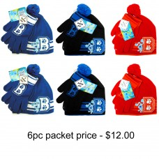 Blue's Clues Beanie and Glove Set Pack of 6 #CBKS2548-PACK
