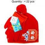 Blue's Clues Beanie and Glove Set #CBKS2548-R
