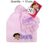 Dora the Explorer Angora Beanie and Glove Set #DE62114