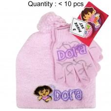 Dora the Explorer Angora Beanie and Glove Set #DE62114