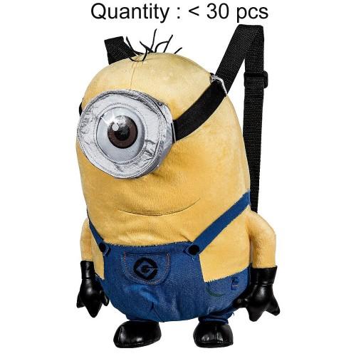 Despicable Me Stuart Minions Plush Backpack (1 Eyes) #DL12678