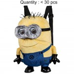 Despicable Me Jerry Minions Plush Backpack (2 Eyes) #DL13009
