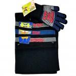Sponge Bob Letter 3pcs Set (Beanie, Glove, Scarf) #EBKS5102K-3