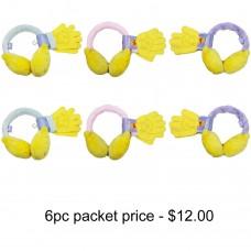 Winnie the Pooh Ear Muff & Glove Set Pack of 6 #WGRS4134-PACK